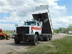 1984 GMC T/A Dump Truck