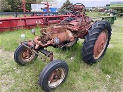1955 McCormick Farmall 100 High Clearance 2WD Parts Tractor