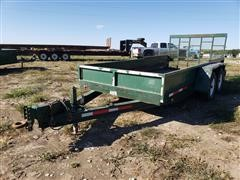 1996 Towmaster T10P T/A Flatbed Trailer