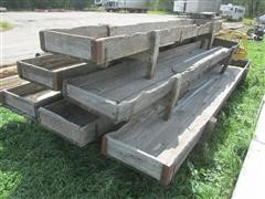 Wood Feed Bunks