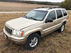 2000 Jeep Grand Cherokee Limited 4WD Sport Utility Vehicle