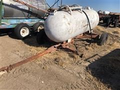 Eveready A500H Anhydrous Ammonia Tank W/Running Gear