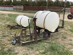Homemade 200 Gallon Sprayer