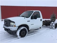2003 Ford F550 Super Duty Diesel Cab & Chassis