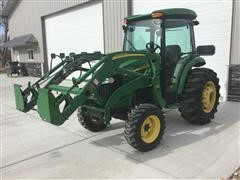 2010 John Deere 4320 MFWD Utility Tractor