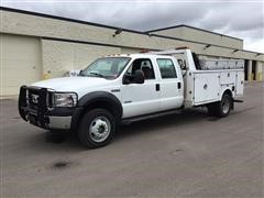 2006 Ford F550 XL Super Duty Crew Cab Service Truck