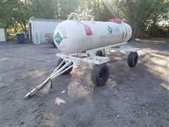 1000-Gal Portable Anhydrous Tank