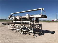 Tri-Steel Sorting Table W/Grading Platform