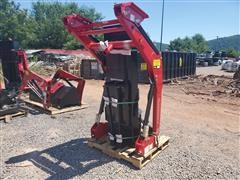 Mahindra ML120 SKC Loader Attachment Assembly