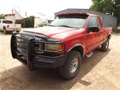 1999 Ford F250 Extended Cab 4x4 Pickup