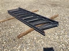 Linn Post & Pipe Fence Line Feeder Panels