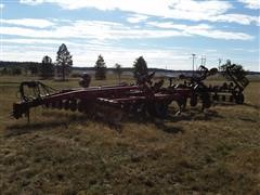2003 Case IH Ecolo-Tiger 730B Deep Disc Ripper With Crumbler