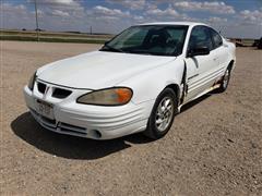 2001 Pontiac Grand AM 2 Door Car