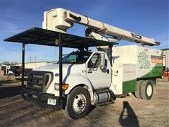 2015 Ford F750XL Super Duty Diesel 56' Bucket Truck