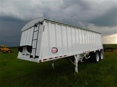 2010 Construction Trailer Specialist Harvest Master Grain Hopper Trailer