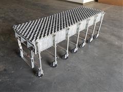 Nestaflex Gravity Skate Wheel Conveyor