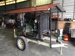 1997 John Deere 6068TF150 Diesel Power Unit On Cart
