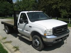 2002 Ford F-450 Flatbed Truck