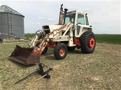 Case 1070 2WD Tractor With Cab & Loader