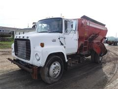 1979 Ford L7000 S/A Feed Truck W/ Butler-Oswalt 370 Feed Box