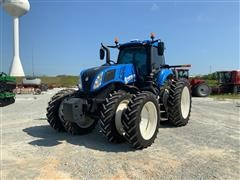 2015 New Holland T8.350 MFWD Tractor