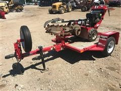 Barreto 912 Mini Trencher W/Tilt Trailer