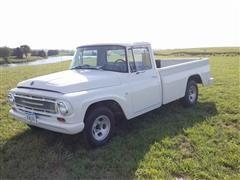 1967 International 1100B Deluxe Pickup