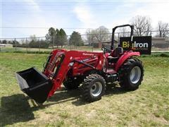 2018 Mahindra 26554FHIL MFWA Compact Utility Tractor W/Loader