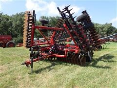 2013 Case IH 370 True Tandem 32' Disk W/3 Bar Harrow