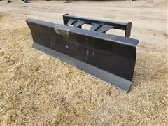 Mid-State Tilt 6' Wide Blade Skid Steer Attachment