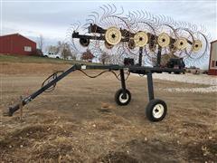 OMI 10 Wheel Hay Rake