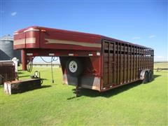 1998 Diamond D Livestock Trailer