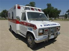 1989 Ford E350 Ambulance
