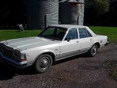 1979 Dodge Diplomat 4 Door Car