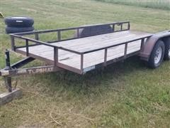 2009 Top Hat 16' T/A Utility Trailer