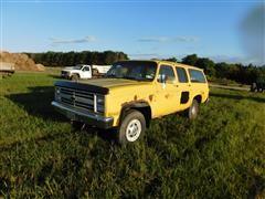 1988 Chevrolet Scottdale 20 4x4 Suburban