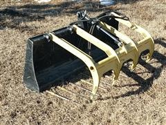 MDS Mfg Manure Bucket W/Grapple