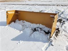 2019 Industrias America SP08 8' Wide Skid Steer Snow Pusher Skid Steer Attachment