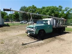 1957 Ford F600 Flatbed Weed Burner Truck