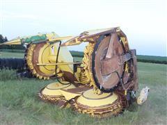 John Deere 678 4 Drum Folding Row Crop Chopper Header