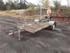 1960 Homemade Flatbed Trailer
