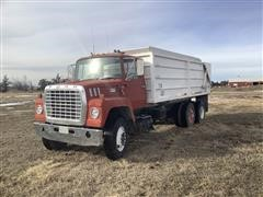 1977 Ford 8000 T/A Grain Truck w/ Aulick Box