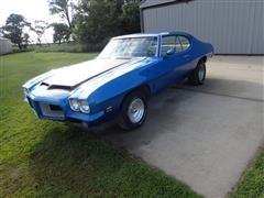 1972 Pontiac LeMans Restro Mod GTO W/350 Chevy 4 Speed