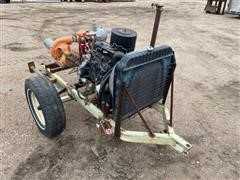Chevrolet 181 ORH Power Unit W/Pump On Cart