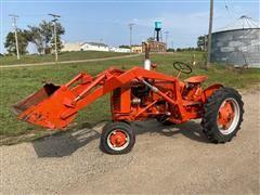 1951 Case VAC 2WD Tractor W/Loader