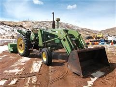 1962 John Deere 4010 2WD Tractor, Loader And Snowblower