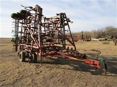 Kent 6542FC93 44' Field Cultivator W/3 Bar Spike Tooth Harrow