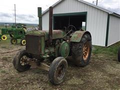 1936 John Deere D 2WD Tractor