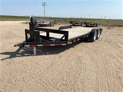 2019 Homemade T/A Flatbed Trailer