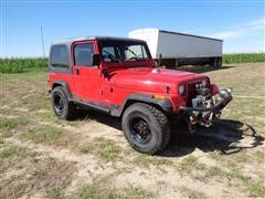 1993 Jeep Wrangler SUV